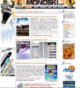 Site AFM 2010