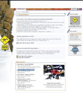 Site AFM 2003