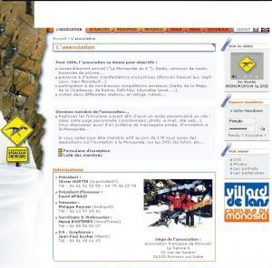 Site AFM 2005