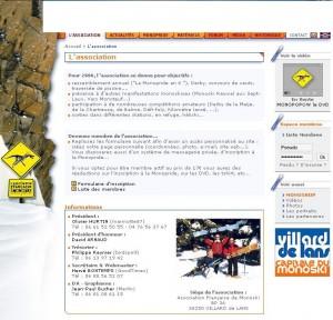 Site AFM 2006