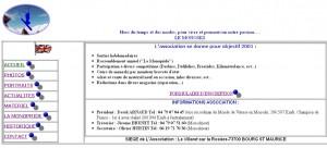 Site AFM 2001